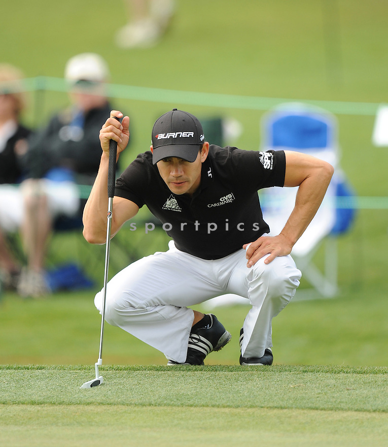 CAMILO VILLEGAS during the second round at The Wells Fargo Championship at The Quail Hollow Country Club  in Charlotte, North Carolina on Friday, May 6, 2011.