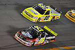 Feb 13, 2009; 8:25:09 PM; Daytona Beach, FL, USA; NASCAR Camping World Truck Series race of the NextEra Energy Resources 250 at Daytona International Speedway.  Mandatory Credit: (thesportswire.net)