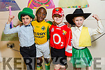At the Moyderwell Primary School  Christmas Concert on Monday were Nathan sharma, Samson Abubakar, Nathan O'Connor, Donncha Hartnett