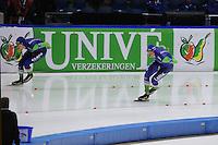 SCHAATSEN: HEERENVEEN: 12-12--2015, IJsstadion Thialf, ISU World Cup 5000mtr, Sven Kramer, Jorrit Bergsma, ©foto Martin de Jong