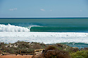 Empty wave at Dang Dang in Kalbarri, Western Australia