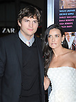 """HOLLYWOOD, CA. - February 08: Ashton Kutcher and Demi Moore arrive at the """"Valentine's Day"""" Los Angeles Premiere at Grauman's Chinese Theatre on February 8, 2010 in Hollywood, California."""