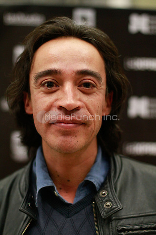 "HERMOSILLO SONORA, MX - DECEMBER 11: Actor Roberto Sosa, who plays the character Juan Orol in the film ""El fantástico mundo de Juan Orol"", during a screening of the film in Hermosillo Sonora, Mexico. December 11, 2012. Credit: Luis Gutierrrez/NortePhoto/MediaPunch Inc. ***NO MEXICO *** NO SPAIN***"