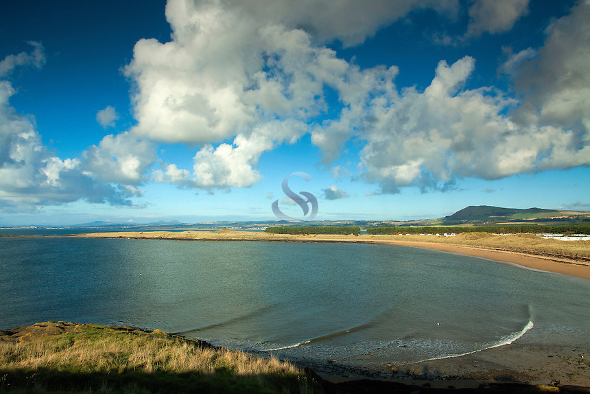 Shell Bay near Elie on the Fife Coastal Path, Fife