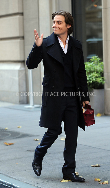 WWW.ACEPIXS.COM . . . . . ....November 9 2009, New York City....Actor Kevin Zegers on the set of the TV show 'Gossip Girl' in midtown Manhattan on November 9 2009 in New York City....Please byline: KRISTIN CALLAHAN - ACEPIXS.COM.. . . . . . ..Ace Pictures, Inc:  ..tel: (212) 243 8787 or (646) 769 0430..e-mail: info@acepixs.com..web: http://www.acepixs.com