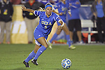 06 December 2013: UCLA's Lauren Kaskie. The University of California Los Angeles Bruins advanced over the University of Virginia Cavaliers in penalty kicks following a 1-1 tie at WakeMed Stadium in Cary, North Carolina in a 2013 NCAA Division I Women's College Cup semifinal match.