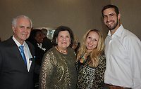 NWA Democrat-Gazette/CARIN SCHOPPMEYER Dr. J.B. and June Hays (from left) and Heidi and Dr. Tom Sarna attend A Toast to Health.