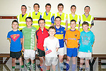 North Kerry Youth Clubs Indoor Soccer Blitz : Taking part in the North Kerry Youth clubs soccer Blitz held in Tarbert  Comprehensive School sports Hall on Sunday last were the members of St Senan's  Youth Club. Front : Jack Hennessy. Centre : Sam Tarrant, Cathal Keane, David Behan, Donnacha Brosnan, Bill Keane & Cathal O'Sullivan. Back : Sean Kennelly, Eoin O'Connell, Mike Keane, Allan Kelly, Alan Kennelly & Cathal Kennelly.