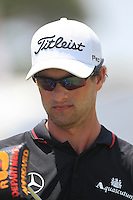 Adam Scott (AUS) walks to the 1st tee to start his match Sunday's Final Round of the 94th PGA Golf Championship at The Ocean Course, Kiawah Island, South Carolina, USA 11th August 2012 (Photo Eoin Clarke/www.golffile.ie)