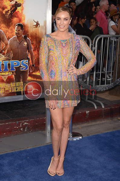 """Jessica McNamee<br /> at the """"Chips"""" Los Angeles Premiere, TCL Chinese Theater, Hollywood, CA 03-20-17<br /> David Edwards/DailyCeleb.com 818-249-4998"""