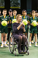 Rotterdam, The Netherlands, 14 Februari 2019, ABNAMRO World Tennis Tournament, Ahoy, Wheelchair, Final, Esther Vergeer,<br /> Photo: www.tennisimages.com/Henk Koster