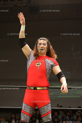 MAY 4th, 2010 - Pro Wrestling : DDT Pro-Wrestling event at Korakuen Hall in Tokyo, Japan. (Photo by Yukio Hiraku/AFLO)...