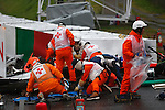 ACCIDENT of Jules BIANCHI in SUZUKA - Jules BIANCHI, FRA, Team Marussia F1, first help mesures - <br /> Marussia MR03, Ferrari 059/3, <br /> SUZUKA, JAPAN, 05.10.2014, Formula One F1 race, podium, JAPAN Grand Prix, Grosser Preis, GP du Japon, Motorsport, Photo by: Sho TAMURA/AFLO SPORT  -  GERMANY OUT