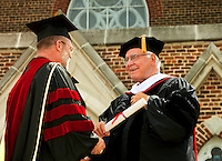 Belmont Abbey College Graduation 2009 in Belmont North Carolina,near Charlotte, NC.