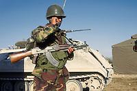 - Albanian soldiers participating in NATO exercises in Friuli<br /> <br /> - militari albanesi partecipano ad esercitazioni NATO in Friuli