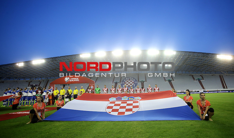 12.06.2015., Croatia, stadium Poljud, Split - Qualifying match for the European Championship to be held in 2016 in France, Group H, Round 6, Croatia - Italy<br />  <br /> Foto &copy;  nph / PIXSELL / Igor Kralj;