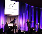 Joseph Thalken & Howard McGillin.performing at the Signature Theatre Stephen Sondheim Award Gala honoring Patti Lupone at the Embassy of Italy in Washington D.C. on 4/16/2012.