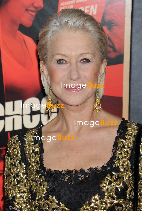 "Helen Mirren at the premiere of ""Hitchcock"" in New York City..New York, November 18, 2012."