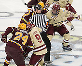 (Budish, Almeida, Bjugstad) Bill Arnold (BC - 24) - The Boston College Eagles defeated the University of Minnesota Golden Gophers 6-1 in their 2012 Frozen Four semi-final on Thursday, April 5, 2012, at the Tampa Bay Times Forum in Tampa, Florida.