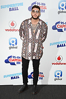 James Arthur<br /> at the Capital Summertime Ball 2017, Wembley Stadium, London. <br /> <br /> <br /> &copy;Ash Knotek  D3278  10/06/2017
