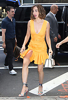 NEW YORK, NY- August 13: Alison Brie at Strahan & Sara to talk about 3rd season of Glow in New York. August 13, 2019 Credit:RW/MediaPunch