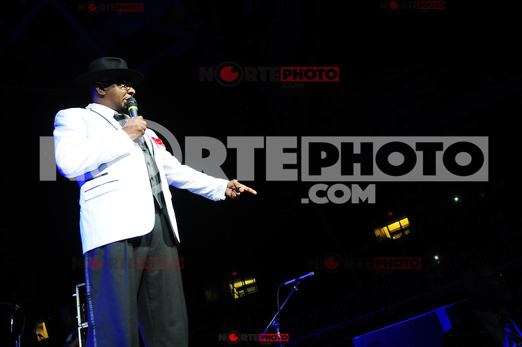 MIAMI, FL - MAY 05: Bobby Brown of New Edition performs at Bank United Center in support of they tour 'Road To the 30th' on May 5, 2012 in Miami, Florida.  (photo by: MPI10/MediaPunch Inc.)