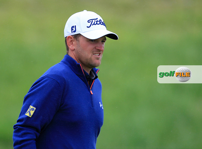 Bernd Wiesberger (AUT) on the 9th green during Round 4 of the 100th Open de France, played at Le Golf National, Guyancourt, Paris, France. 03/07/2016. <br /> Picture: Thos Caffrey | Golffile<br /> <br /> All photos usage must carry mandatory copyright credit   (&copy; Golffile | Thos Caffrey)