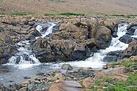 Stream running through the barren Tablelands