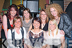 Having fun at the Joe Dolan memorial night were front row l-r: Mary Anne Piggot, Fiona Evans, Emma O'Shea. Back row: Gail Hilliard, Mairead Murphy, Mary Murphy and Catriona O'Dowd in Murphys bar Boolteens on Saturday night   Copyright Kerry's Eye 2008