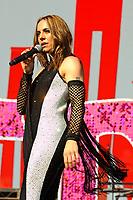 LONDON, ENGLAND - JUNE 3: Mel C (Melanie Chisholm) performing at Mighty Hoopla at Brockwell Park, Brixton on June 3, 2018 in London<br /> CAP/MAR<br /> &copy;MAR/Capital Pictures
