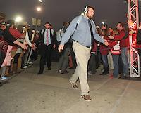 NWA Media/Michael Woods --12/29/2014-- w @NWAMICHAELW...University of Arkansas vs the University of Texas at the 2014Texas Bowl Monday night at  NRG Stadium in Houston.