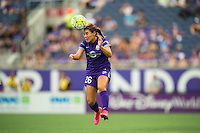 Orlando, FL - Sunday July 10, 2016: Samantha Witteman during a regular season National Women's Soccer League (NWSL) match between the Orlando Pride and the Boston Breakers at Camping World Stadium.