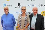 51 Festival Internacional de Cinema Fantastic de Catalunya-Sitges 2018.<br /> 2001: Una odisea del espacio-Photocall.<br /> Jan Harlan, Katharina Kubrick &amp; Douglas Trumbull.