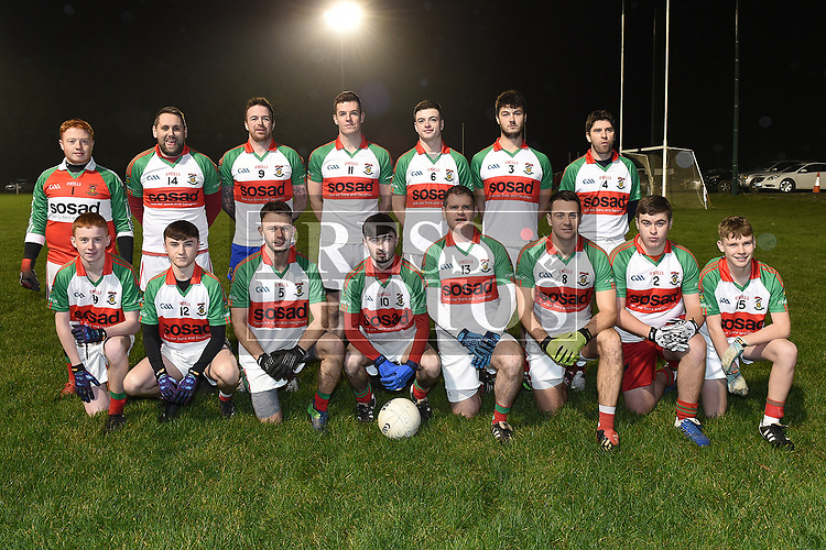 St Marys team who played in the Emmet Lynch memorial match. Photo:Colin Bell/pressphotos.ie