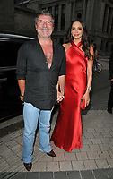 Simon Cowell and Lauren Silverman at the Syco summer party, Victoria and Albert Museum, Cromwell Road, London, England, UK, on Monday 09 July 2018.<br /> CAP/CAN<br /> &copy;CAN/Capital Pictures