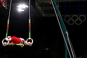 Kohei Uchimura (JPN), <br /> AUGUST 6, 2016 - Artistic Gymnastics : <br /> Men's Qualification <br /> Rings <br /> at Rio Olympic Arena <br /> during the Rio 2016 Olympic Games in Rio de Janeiro, Brazil. <br /> (Photo by Sho Tamura/AFLO SPORT)