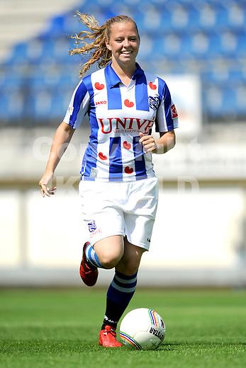HEERENVEEN - Persdag Heerenveen Erdivisie vrouwen , seizoen 2011-2012, 07-07-2011 Wendy Mulder