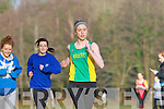 Amy Reidy Castleisland Community College storms home to win the Intermediate Girls race in the Vocational Schools Cross Country championships in Killarney on Wednesday  ..