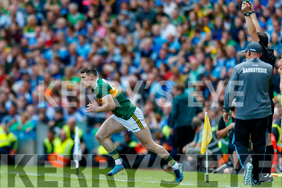 Mark Griffin, Kerry comes on as a sub during the GAA Football All-Ireland Senior Championship Final match between Kerry and Dublin at Croke Park in Dublin on Sunday.