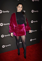 LOS ANGELES, CA - FEBRUARY 07: Lauren Jauregui attends Spotify's Best New Artist Party at the Hammer Museum on February 07, 2019 in Los Angeles, California.<br /> CAP/ROT/TM<br /> ©TM/ROT/Capital Pictures