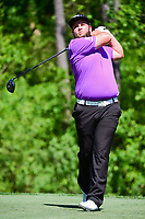 Andrew Johnston (GBR) watches his tee shot on 13 during round 2 of the Shell Houston Open, Golf Club of Houston, Houston, Texas, USA. 3/31/2017.<br /> Picture: Golffile | Ken Murray<br /> <br /> <br /> All photo usage must carry mandatory copyright credit (&copy; Golffile | Ken Murray)