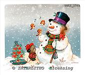 GIORDANO, CHRISTMAS SANTA, SNOWMAN, WEIHNACHTSMÄNNER, SCHNEEMÄNNER, PAPÁ NOEL, MUÑECOS DE NIEVE, paintings+++++,USGI1745,#X#