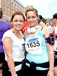 Emma and Laura halpin who took part in the Boyne 10K run. Photo: Colin Bell/pressphotos.ie
