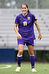 14 September 2014: LSU's Natalia Gomez-Junco (MEX). The Duke University Blue Devils hosted the Louisiana State University Tigers at Koskinen Stadium in Durham, North Carolina in a 2014 NCAA Division I Women's Soccer match. Duke won the game 1-0.