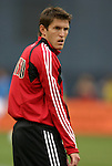3 April 2004: Brandon Prideaux during pregame warmups. DC United defeated the San Jose Earthquakes 2-1 at RFK Stadium in Washington, DC on opening day of the regular season in a Major League Soccer game..