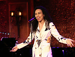 "Nicole Vanessa Ortiz performing a press preview of  ""Becoming Her : A Diva's Tribute""  at Feinsteins/54 Below on February 21, 2019 in New York City."