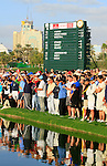 Spectators in action during the final round of the Omega Dubai Desert Classic played at the Majilis Course, Emirates Golf Club, Dubai, UAE on 13th February 2011..Picture: Phil Inglis / www.golffile.ie.
