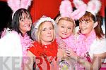 Marina Burke, Listowel, Mary Goulding, Listowel (the bride to be), Patricia Beasley, Listowel and Norah Murphy, Duagh enjoying Mary's hen night in Listowel on Saturday night.   Copyright Kerry's Eye 2008