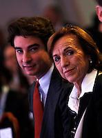 CAPRI  26/10/2012 -.XXVII CONVEGNO GIOVANI INDUSTRIALI .NELLA FOTO  JACOPO MORELLI ELSA FORNERO.FOTO CIRO DE LUCA