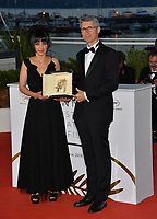 Fabrice Aragno &amp; Mitra Farahani  at the photocall for &quot;Award Winners&quot; at the 71st Festival de Cannes, Cannes, France 19 May 2018<br /> Picture: Paul Smith/Featureflash/SilverHub 0208 004 5359 sales@silverhubmedia.com